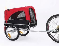 Sepnine 2 in 1 Small Sized Bike Trailer Bicycle Pet Trailer/