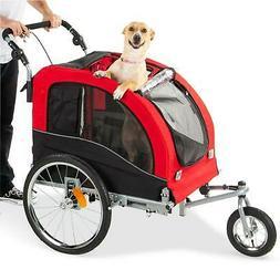 1 pet dog bike trailer