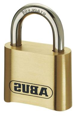 ABUS 180/50 Solid Brass Combination Padlock - Stainless Stee