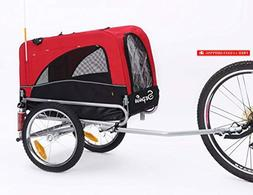 Sepnine 2 in 1 Small Sized Comfortable Bike Trailer Bicycle