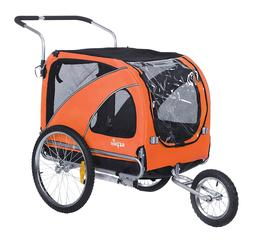 Sepnine 2 in1 large pet dog bike trailer bicycle trailer and