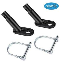 2 pack bike trailer coupler bicycle trailer