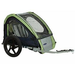 InSTEP 2 Seater  Bike Trailer - Green/Grey - New In Box