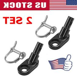 2 Set Bike Trailer Coupler Angled Elbow Hitch for InStep Sch