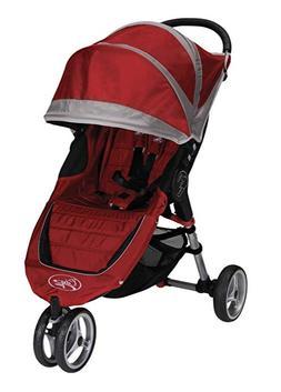 Baby Jogger 2012 City Mini Single Stroller, Crimson/Gray !!