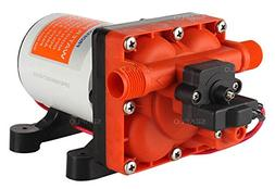 Seaflo 12V 3.0 GPM 55 PSI Water Pressure Diaphragm Pump with