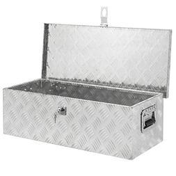 30 Aluminum Camper Tool Box W/ Lock Pickup Truck Bed ATV Tra