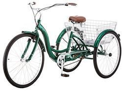 3Wheeled Bikes For Adults With Basket Schwinn Meridian Adult