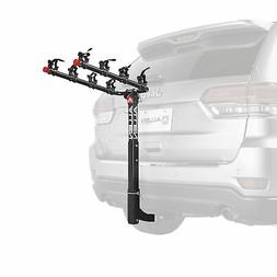 4 Bicycle Bike Rack 2'' Hitch Mount Rear Carrier Foldable fo