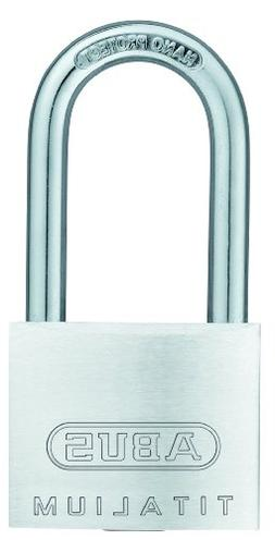 ABUS 64TI/40HB40 Titalium Aluminum Alloy Padlock Keyed Alike