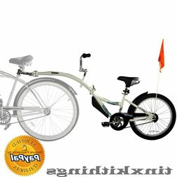 New Tag Along Bicycle Trailer for Child Bike Ride Attachment