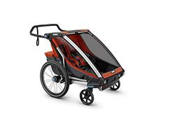 Thule Chariot Cross  Multisport Trailer 2, Roarange/Dark Sha