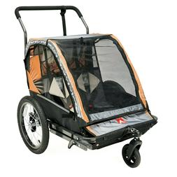 Allen Sports 2-Child Bicycle Trailer and Stroller