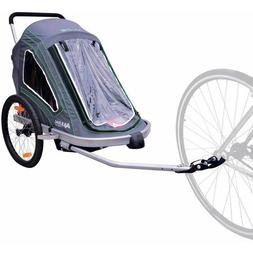 Allen Sports Aluminum 2 Child Trailer/Single & Double Swivel