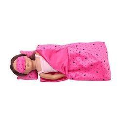 AMOFINY Bedding Set Sleeping Bag for 18 Inch for American Gi