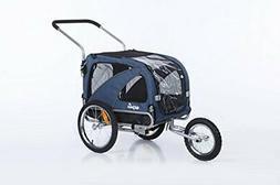 Sepnine & Leopets 2 in1 Medium Bike pet Dog Bike Trailer