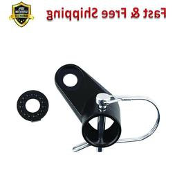 Angled Elbow Upgraded Bike Bicycle Trailer Coupler Attachmen