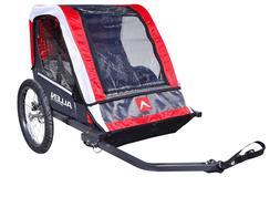 Allen Sports AST202 Steel Deluxe 2-Child Bike Trailer