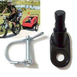 Bike Trailer Bicycle Coupler Angled Elbow Attachment Hitch F