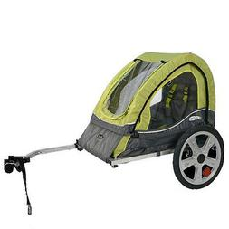 Bicycle Baby Tow Behind Trailer for Kids Pet Bike Seat Canop