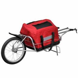 Bicycle Bike Cargo Trailer Cart Carrier Shopping Storage Sin