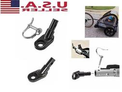 Bicycle Bike Steel Traction Head Trailer Coupler Attachment