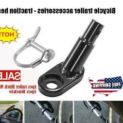 Bicycle Bike Trailer Coupler Attachment Hitch Angled Elbow F