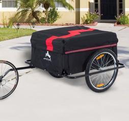 Festnight Bicycle Cargo Luggage Traile, Bike Cargo and Lugga