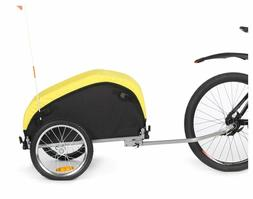 Sepnine Bicycle Cargo Storage Cart And Luggage Trailer With