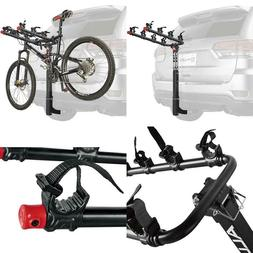 Bicycle Hitch Racks Carrier Steel Deluxe 4-Bike Capacity