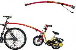bicycle tow bar attachment and detachment adults
