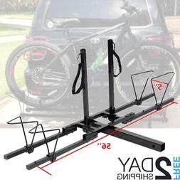 Hitch Tray Bike Big Fat Tire Rack Mount Trailer Suv Tray Sty