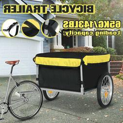 bike bicycle cargo trailer steel carrier storage