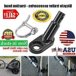 Bike Bicycle Trailer Coupler Attachment Hitch Angled Elbow F