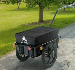 Bike Cargo Trailer Bicycle Cart Kids Wagon Double Wheel Inte