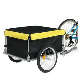 Bike Cargo Trailer Bicycle Cart Wagon Trailer Outdoors Lugga