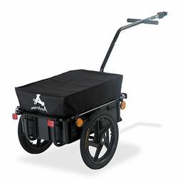 Bike Cargo Trailer Steel Carrier Storage Cart Wheel Runner F