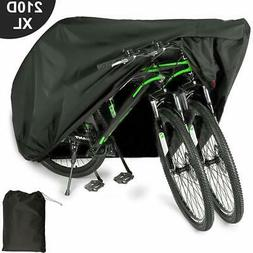 EUGO Bike Cover for 2 Bikes Outdoor Waterproof Bicycle Cover