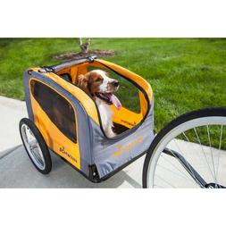 Bike Pet Trailer Schwinn Dog Carrier Wagon Orange Accesory P