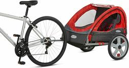 Instep Bike Tow Behind Trailer Carrier Kids Toddler Double S
