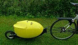 Bike Trailer Cargo trailer transport key lockable biketraile