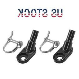 Bike Trailer Coupler Angled Elbow Hitch Mount Set for InStep