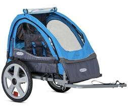 Instep Bike Trailer for Toddlers, Kids,  Double Seat, 2-In-1