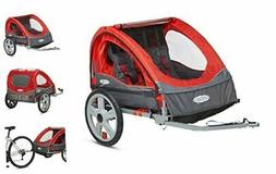 Bike Trailer for Toddlers, Kids, Single and Double Seat, 2-I
