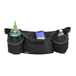 Clevr Bike Trailer Storage Cup Holder Bag Black