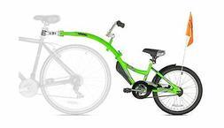 Bike Trailer Child Tandem Seat WeeRide CoPilot Green parent