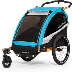 Burley D'Lite X, 2 Seat Kids Bike Trailer & Stroller