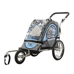 Cycle Force C12 Single Child 2-in-1 Bicycle Trailer, Jogger