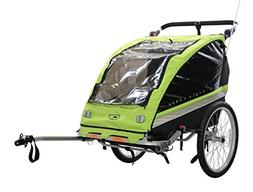 CYCLE FORCE C23 2-CHILD 3-IN-1 BIKE TRAILER