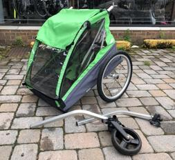 Thule Cadence 2 Bike Trailer Green New Old Stock